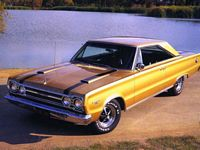 1067 Plymouth GTX Car Picture