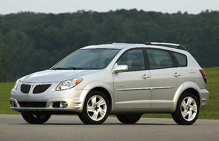 Front Left 2006 Pontiac Vibe Car Photo