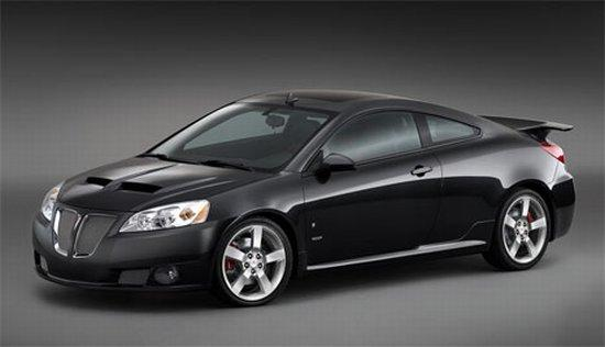 Front left black 2006 Pontiac GXP Concept Car Picture