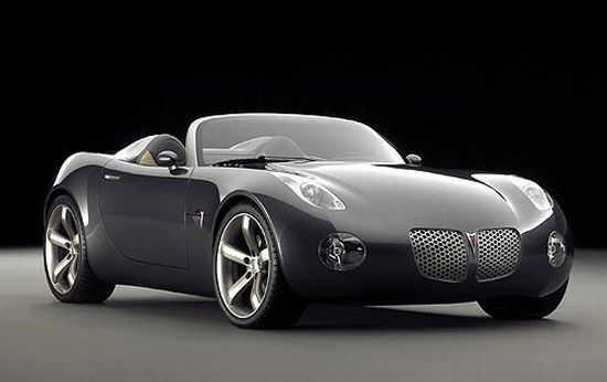 Front right gray 2007 Pontiac Solstice Car Picture