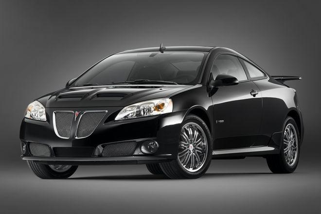 2008 Pontiac G6 GXP Front left Side Car Picture