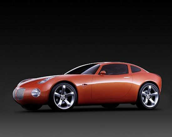 Front left orange 2002 Pontiac Solstice Car Picture