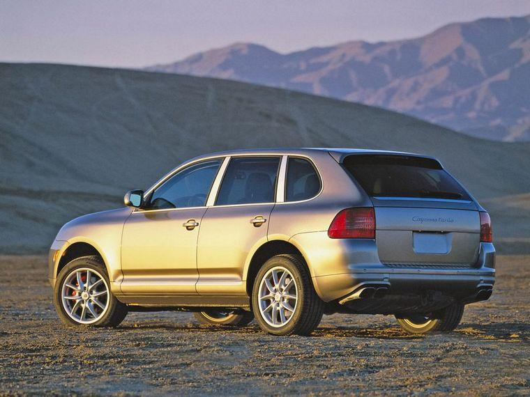 2004 Porsche Cayenne Turbo SUV Picture