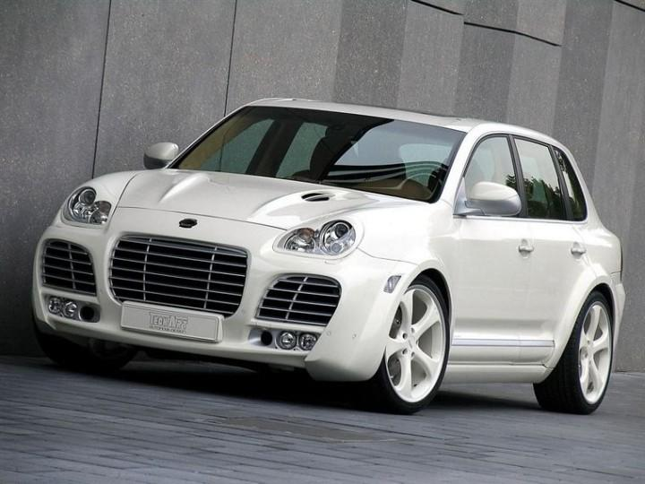 2006 Porsche Tech Art Magnum Cayenne Front left Car Picture