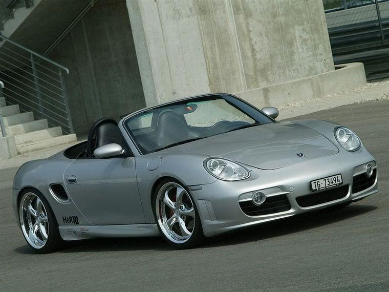 2006 Z-Art Porsche Boxster Front Right Car Picture