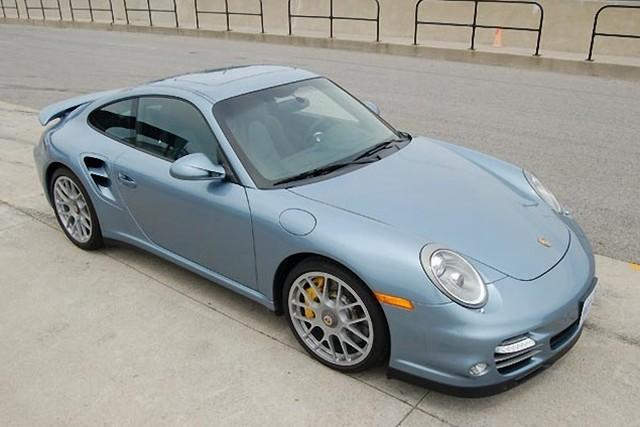 Top Front Right 2011 Porsche 911 Turbo S Car Picture