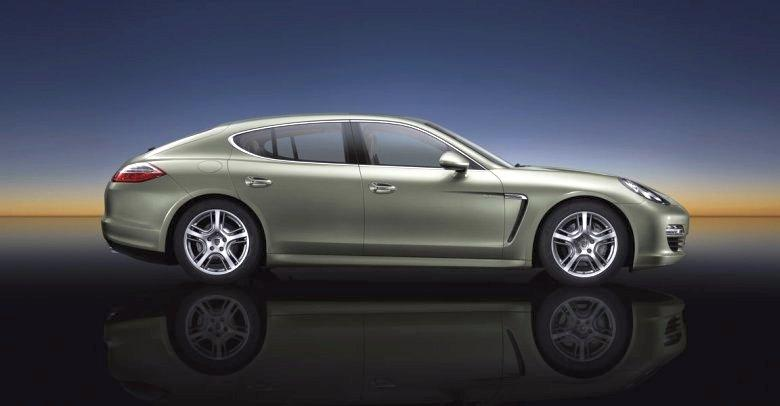 Right Side 2012 Porsche Panamera S Hybrid Car Picture