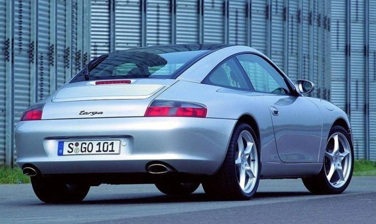 Porsche 996 Targa Rear Right Car Picture