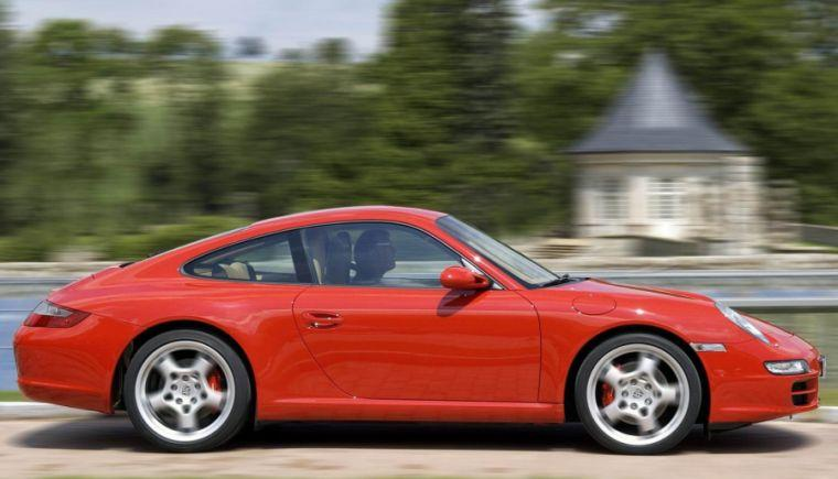 Porsche 997 Carrera S Right Side Car Picture