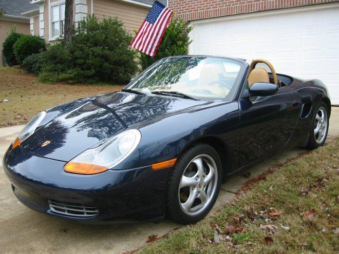 2000 Porsche Boxster Front left Car Picture