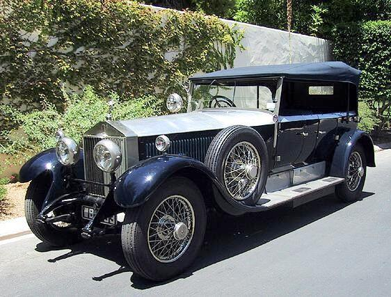1927 Rolls-Royce Phantom I Front left Car Picture