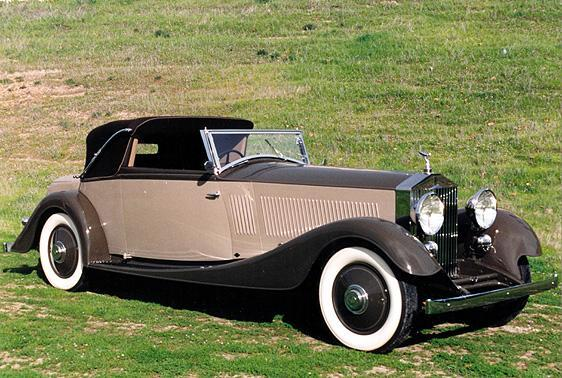 1934 Rolls-Royce Phantom II Front Right Car Picture