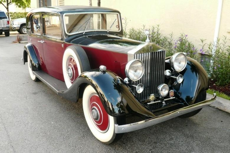 Front Right 1938 Rolls-Royce Model 25-30 Car Picture