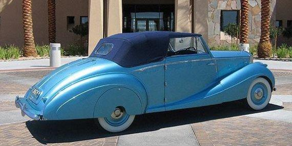 1947 Rolls-Royce Silver Wraith Rear Right Car Picture