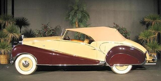 Left Side View 1947 Rolls-Royce Silver Wraith Car Picture