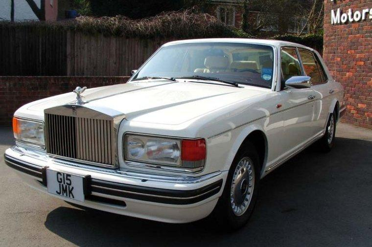 Front left 1997 Rolls-Royce Silver Dawn Car Picture