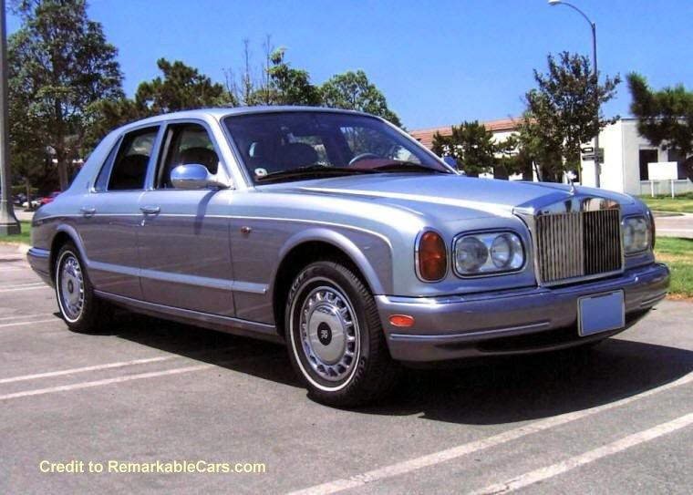 1999 Rolls-Royce Silver Seraph Front Right Car Picture