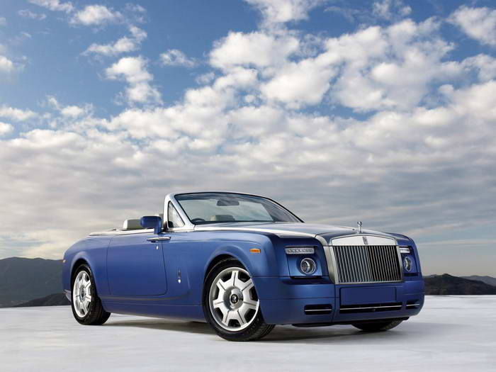 2008 Rolls-Royce Phantom Drophead Front Right Car Picture