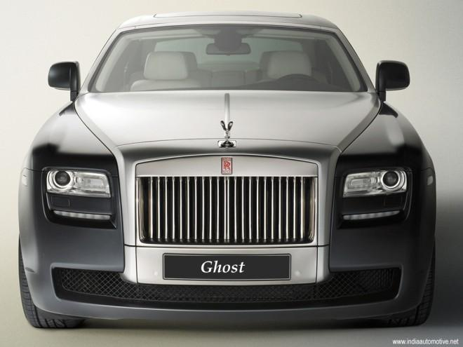 Front View 2010 Rolls-Royce Ghost RR4 Car Picture