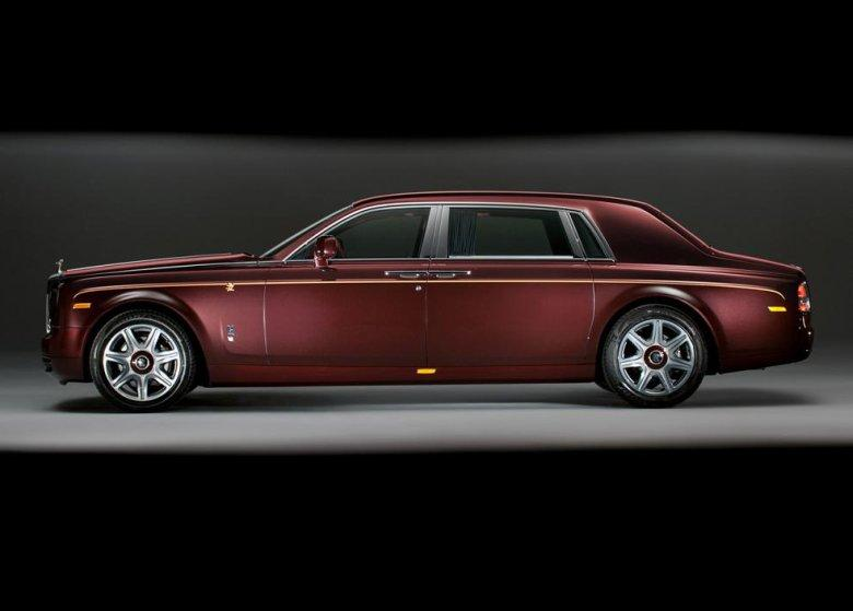Left Side 2012 Rolls-Royce Phantom Car Picture