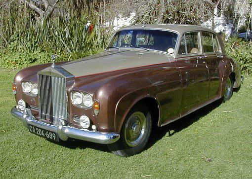 Front left brown 1963 Rolls-Royce Silver Cloud Car Picture