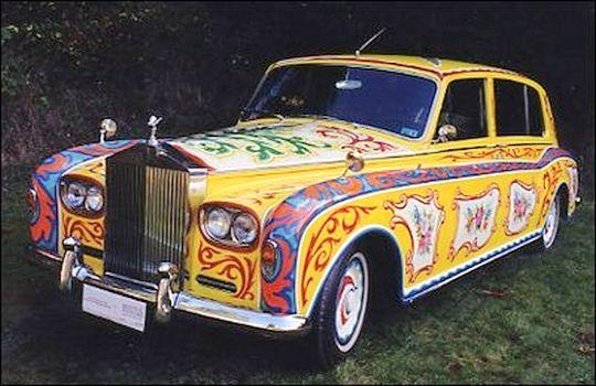 Front left John Lennon's Rolls-Royce Car Picture