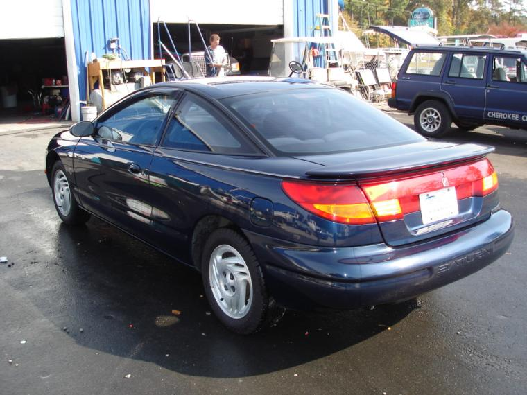 Rear Left 1997 Saturn SC2 Car Picture