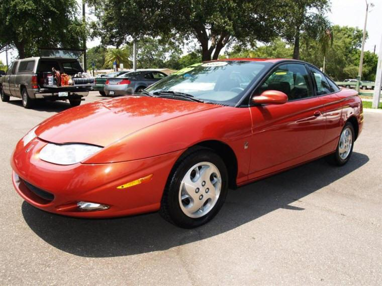 Front left red 2008 Saturn S-series Car Picture