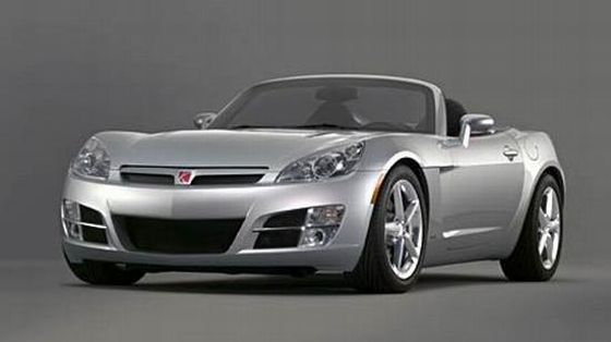 Front left gray 2006 Saturn Sky Roadster Car Picture
