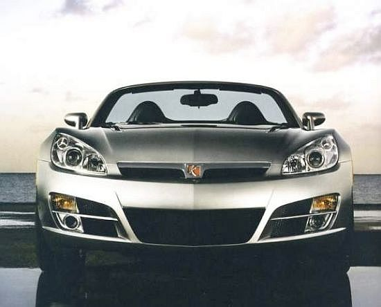 Front View 2007 Saturn Sky Car Picture