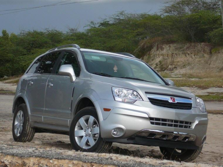 Front right silver 2008 Saturn VUE Car Picture