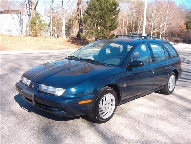 1998 Saturn SW2 Wagon Picture