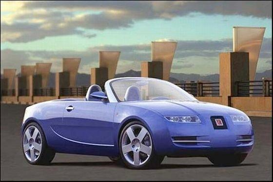 Saturn Sky Concept Car Picture