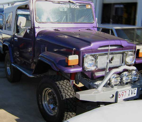 1973 Toyota Land Cruiser SUV Picture