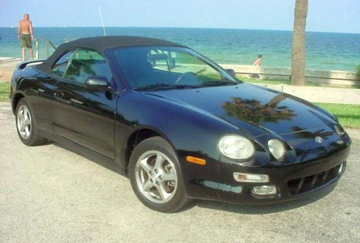 Front Right 1999 Toyota Celica Car Picture