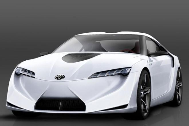 2007 Toyota FT-HS Front left Concept Car Picture