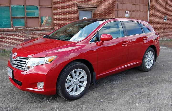Front left red 2009 Toyota Venza Car Picture