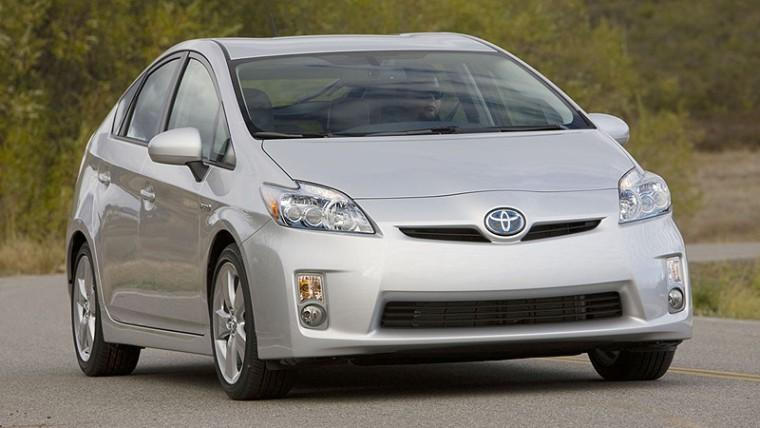 Front Right 2010 Toyota Prius Car Picture