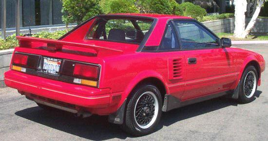 1987 Toyota MR2 Car Picture
