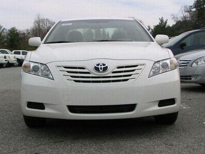 Front View 2007 Toyota Camry Car Picture