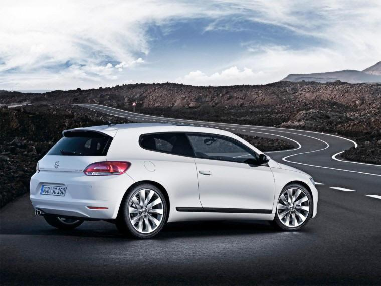 2008 Volkswagen Sirocco Rear Right Car Picture