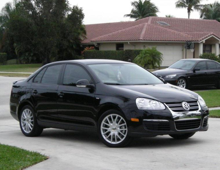 front right black 2009 volkswagen jetta car photograph. Black Bedroom Furniture Sets. Home Design Ideas