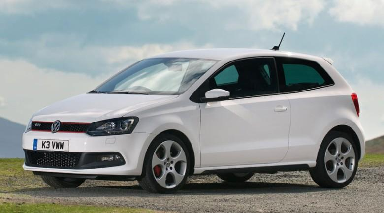 Front Left White 2010 Volkswagen Polo GTI Car Picture