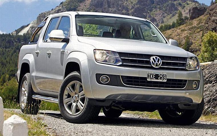 Vw Amarok Modified >> 2010 Volkswagen Amarok White Truck Picture VW Truck Photos