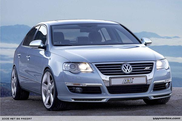 Front right blue 2005 Volkswagen Passat Car Picture