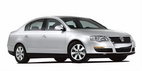 Front right silver 2006 Volkswagen Passat Car Picture