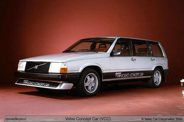 1980 Volvo VCC Concept Car Picture