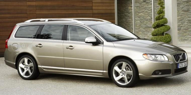 Front right gray 2008 Volvo V70 Car Picture