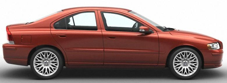Right Side 2008 Volvo S60 Car Picture