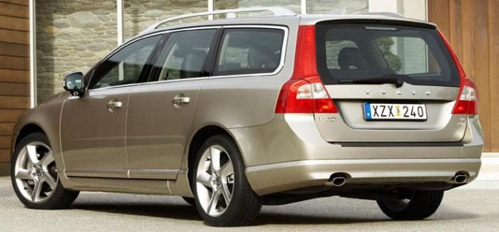 2008 Volvo V70 Wagon Car Picture